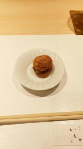 4.レバーパテのシュークリーム